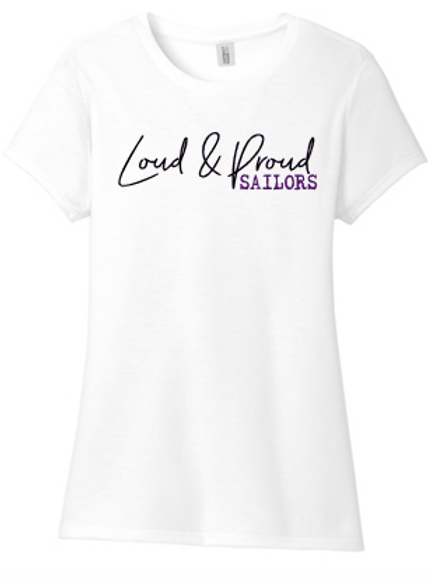 Tri blend  Loud and Proud T