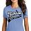 Thumbnail: TSUNAMI Ladies Tri Blend crew neck t-shirt