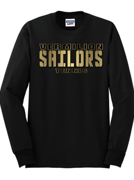 New 2020 Tennis Basic Unisex or Youth Sailor Gold Logo