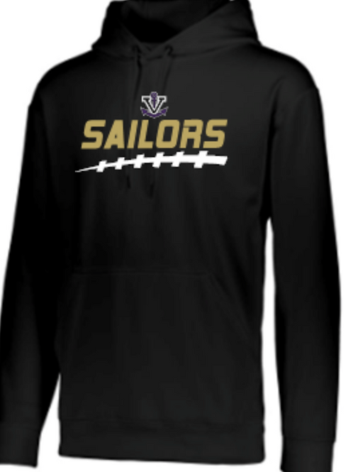 Football Performance Hoodie   Unisex or Youth