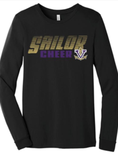 Cheer Premium Tri Blend Long or Short Sleeve T 8-3501