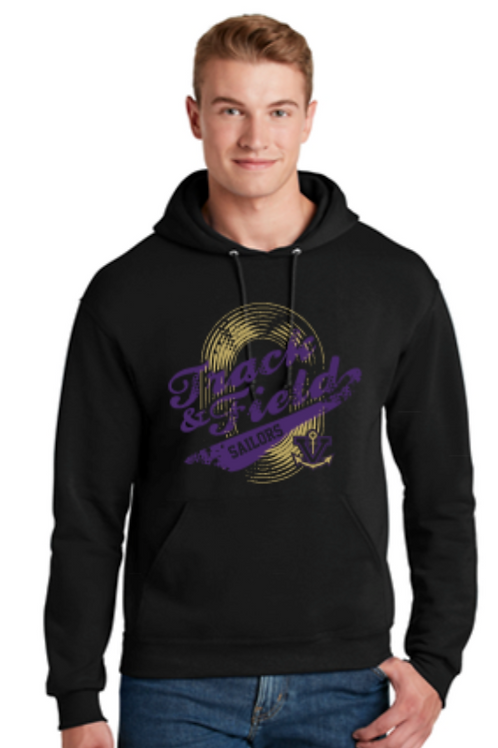 Vintage Track Basic Hoodie Youth and Adult