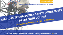 Mast, Antenna, Tower Safety Awareness E-Learning Course