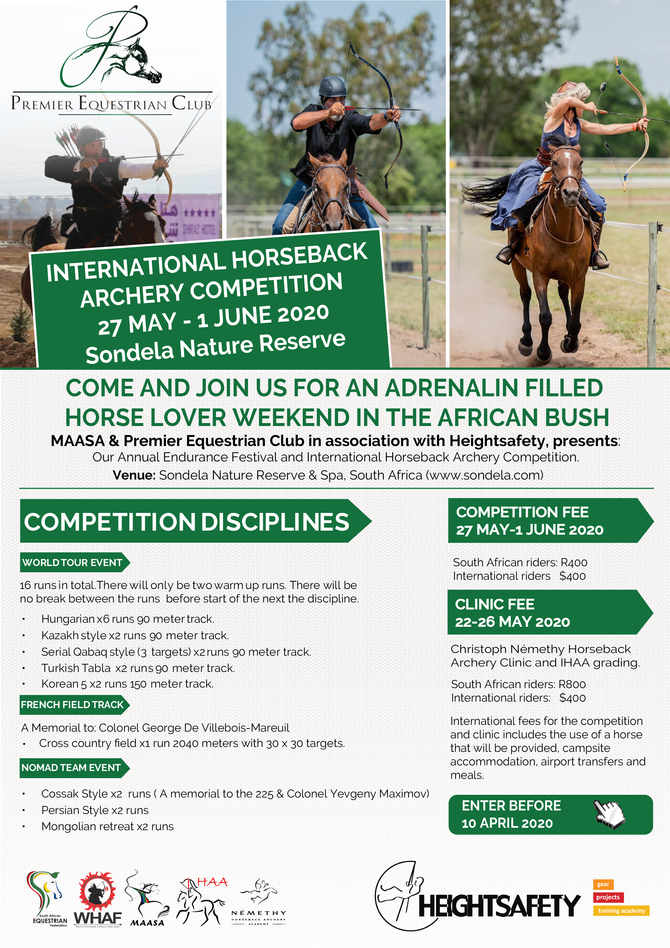 Annual Endurance Festival and International Horseback Archery Competition 2020