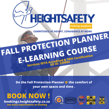 Fall Protection Planner E-Learning  Course