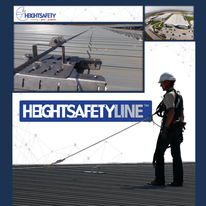 Mercedes Benz Daimler Roof Tops, HeightSafety Line™ Safe roof™ systems