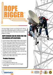 ROPE RIGGER KIT *NEW*