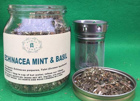 Echinacea Mint & Holy basil (tulsi)
