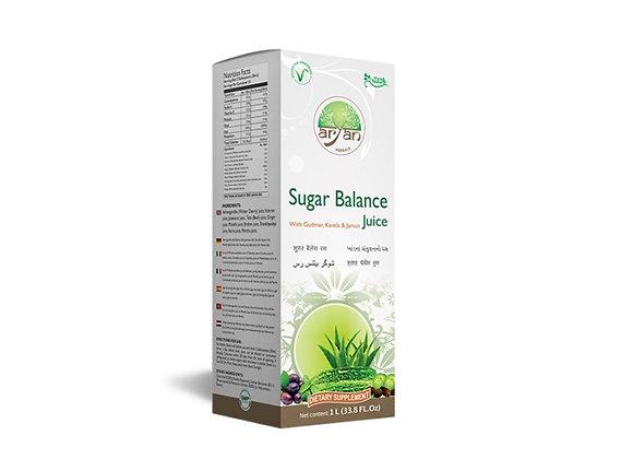 Sugar balance juice with jamun, karela, and aloe Vera