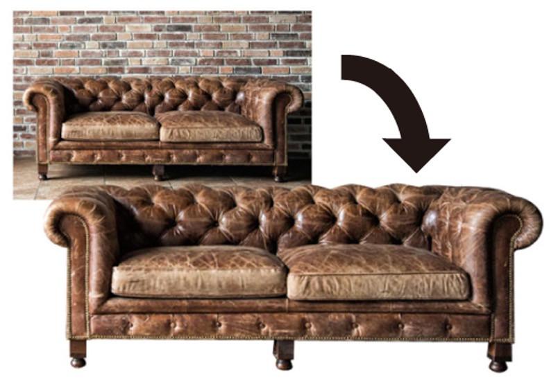 ソファーの切り抜き