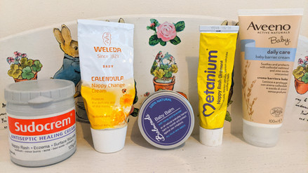 Which rash creams can I use with my cloth nappies?