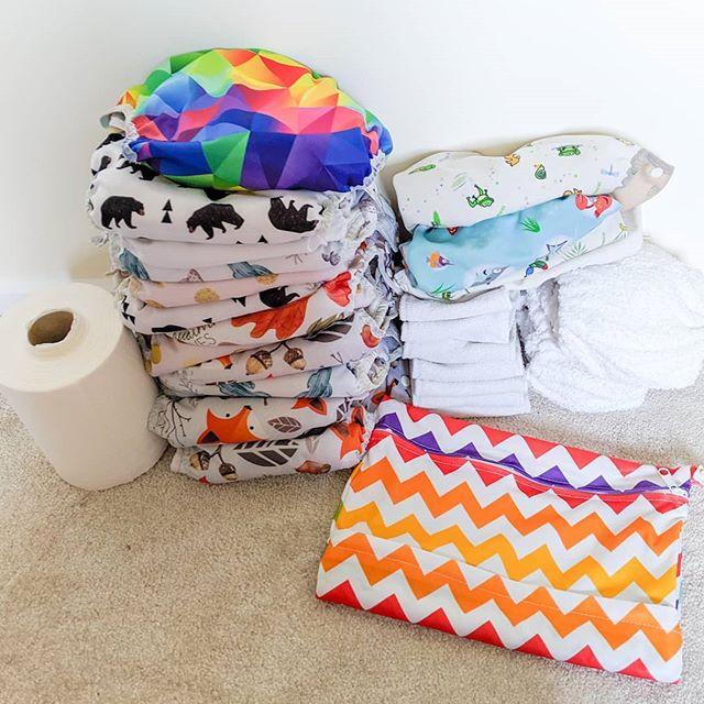 Cloth nappy library hire kit