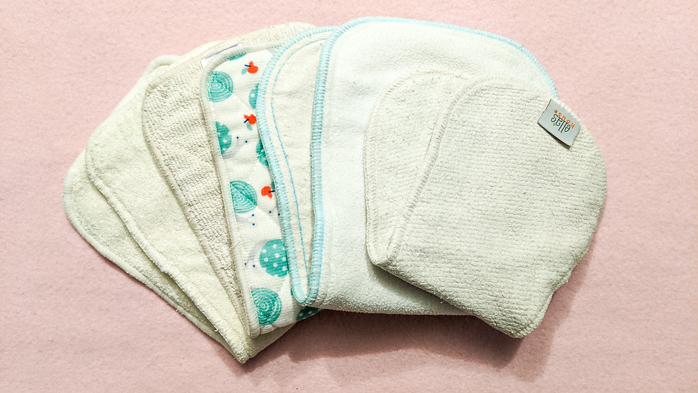 Reusable nappy inserts and boosters