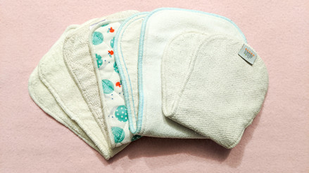 Cloth nappy inserts and boosters