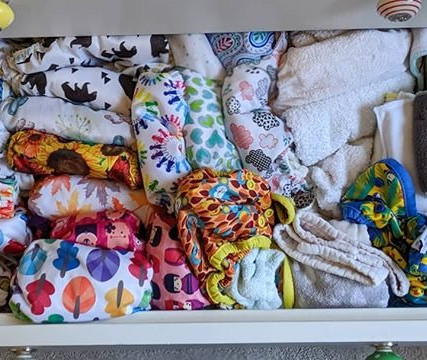 What is a cloth nappy library?