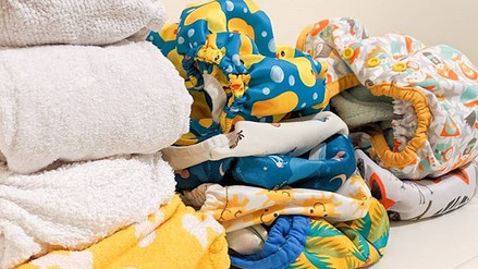 Using reusable nappies overnight