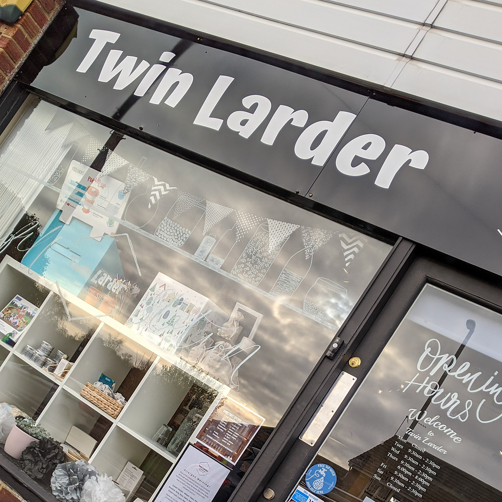Local zero waste shop Twin Larder also selling eco gifts and home wares