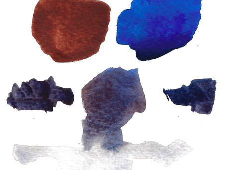 Mixing grays in watercolor
