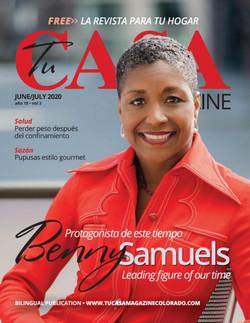 BENNY CASA MAGAZINE cover