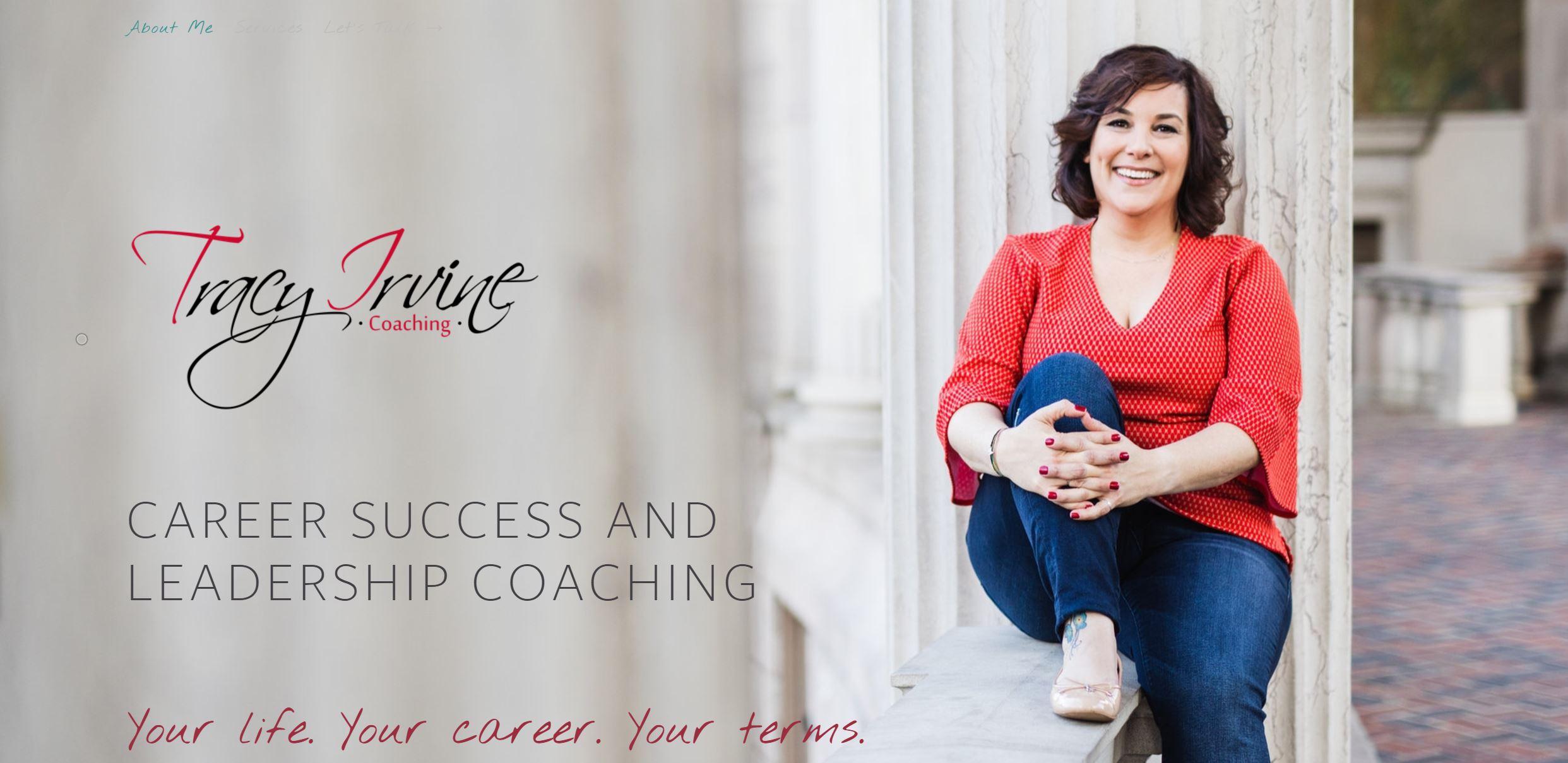 Personal Branding Tracy Website