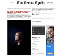 Denver Egostist, Gloria Steinem