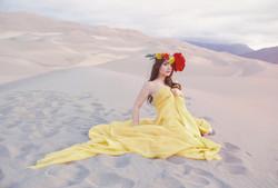 Sand Dunes Sunrise Series