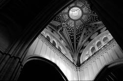 Madrid church interior