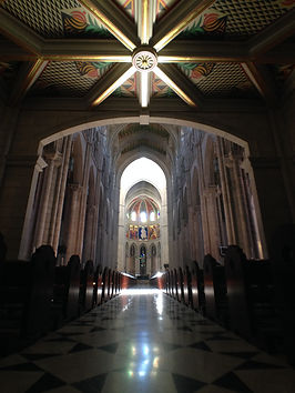 Cathedral Madrid Spain Grand