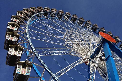 Oktoberfest Gingerbread Ferris Wheel Munich Germany