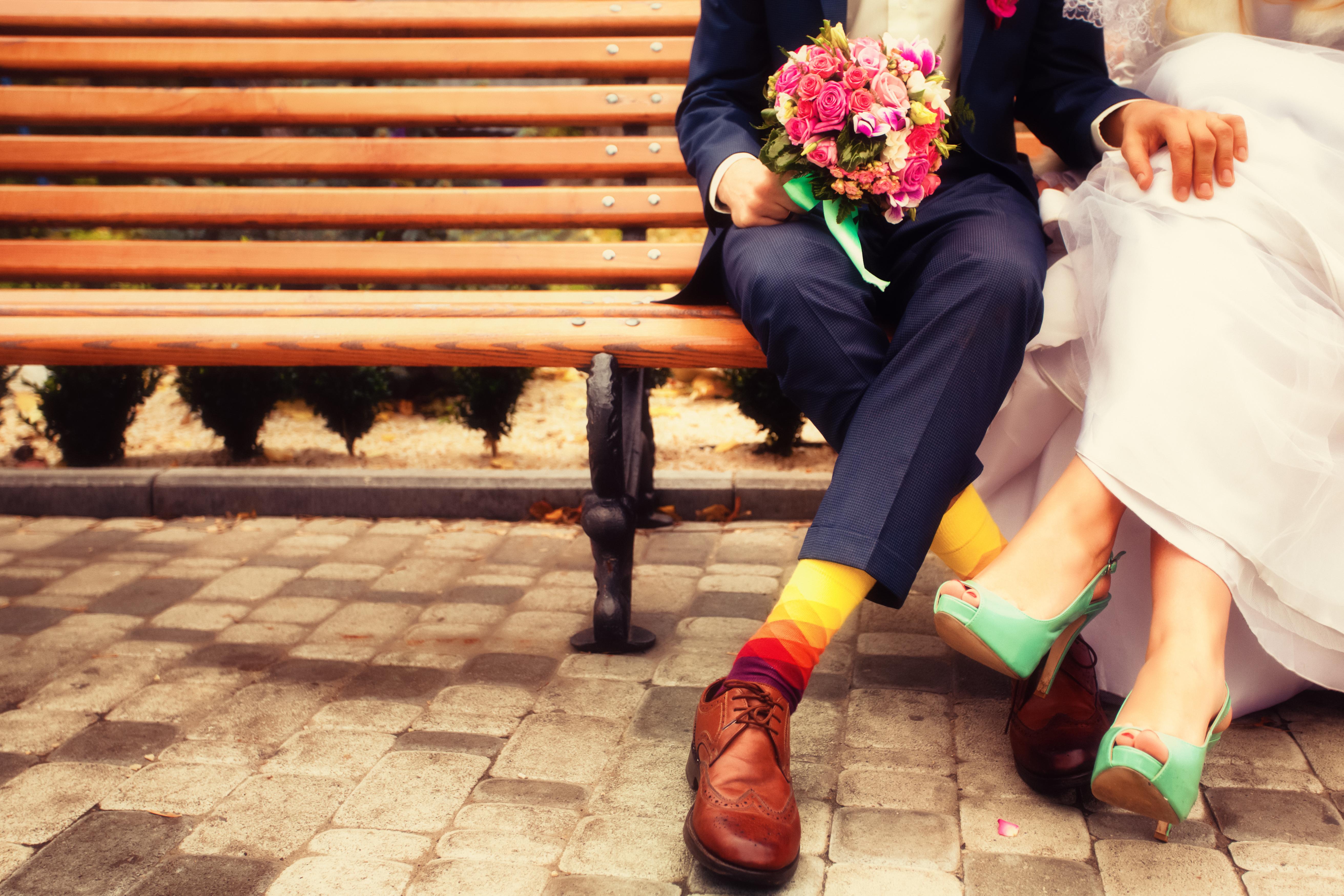 Mariage coloré