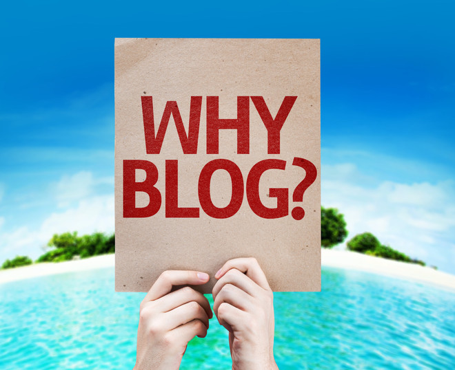 Blogging...everyone is doing it.
