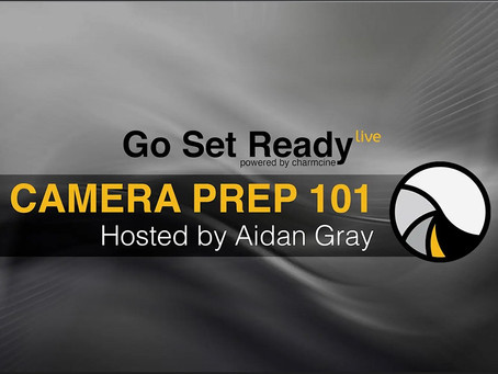 Go Set Ready Live - by charmcine with Aidan Gray