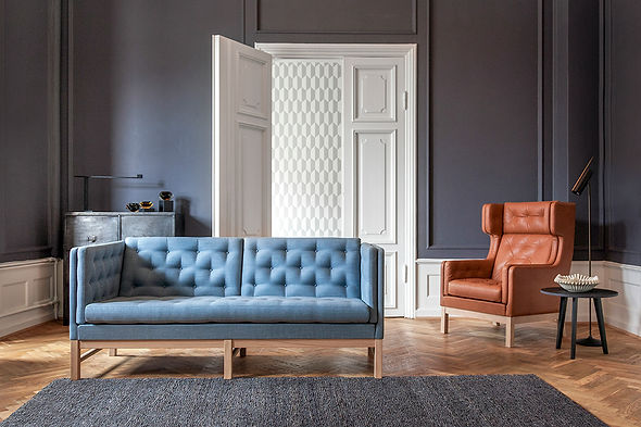 EJ315, sofa klassikeren, Arkitekt Erik Ole Jørgensen
