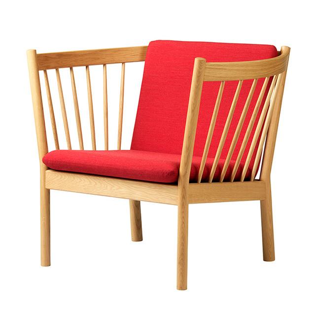 J146 lænestol, designet af møbelarkitekt Erik Ole Jørgensen for FDB Møbler