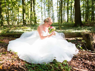 Ein wundervolles Hochzeitskleid, eine wunderschöne Braut und ein wunderbares Fest. Der perfekte Tag!