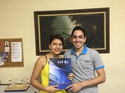 Sablina Melo e Francidayvid Queiroz