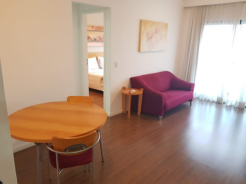 Flat - Pq. Monte Líbano - 1 Dormitório (Aceita Financiamento)