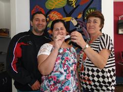 Elisangela Costa e Edilson Freitas