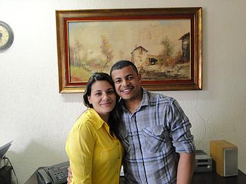 Thiago e Luana Santos