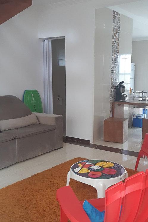 Casa de condomínio - Mongaguá - 2 Dormitórios