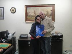 Fabiana Souza e Silvério Ramos