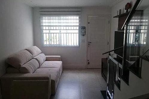 Casa de Condomínio - Jardim Cristal - 2 Dormitórios