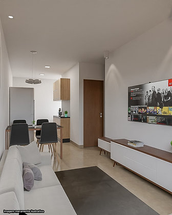 Apartamento - Vila Alpina - 2 Dormitórios