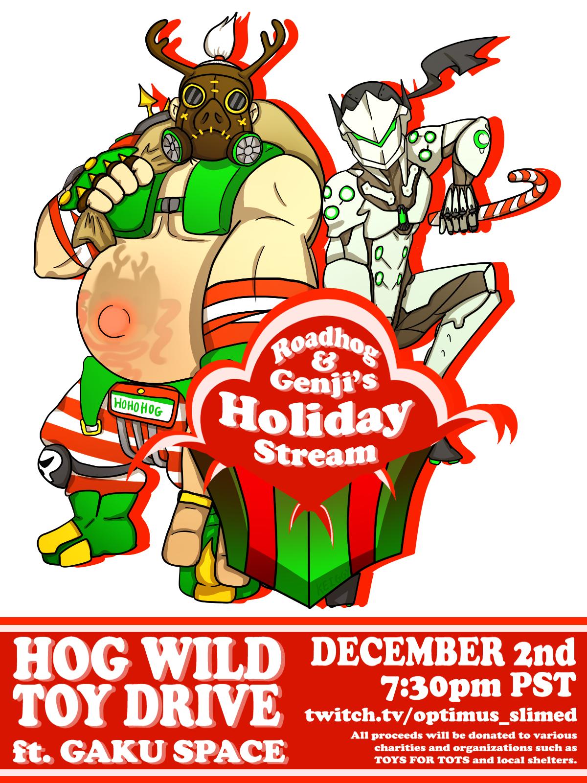 Roadhog & Genji's Holiday Stream (2017)