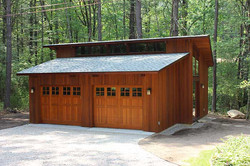 Deck House Garage