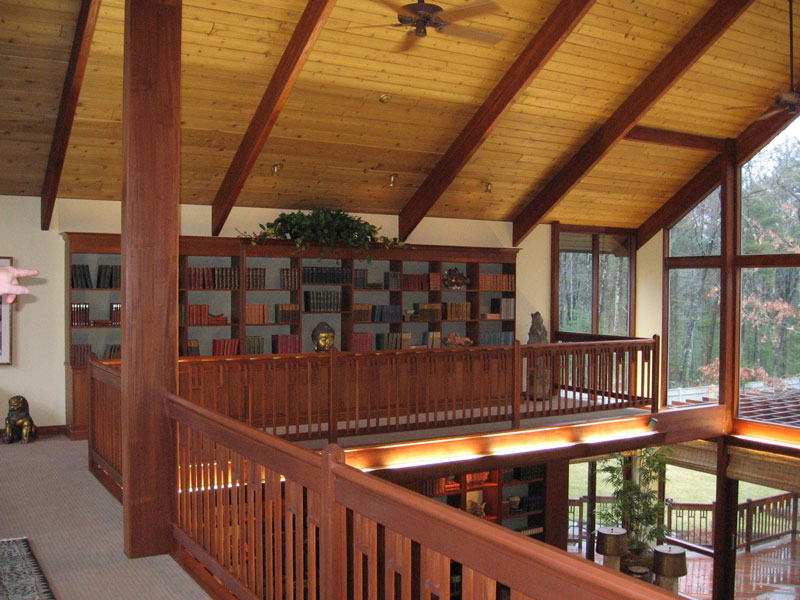 Deck House Library