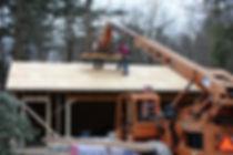 Deck House Home Garage