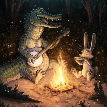 campfire music animals slowvember svs sm