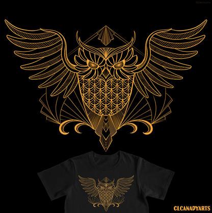 deco owl clcanadyarts 1