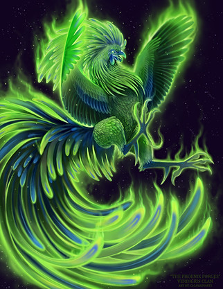 Verdigris clan - The Phoenix Forges